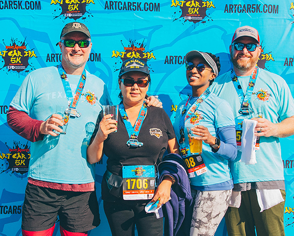 Saint Arnold Art Car IPA 5K